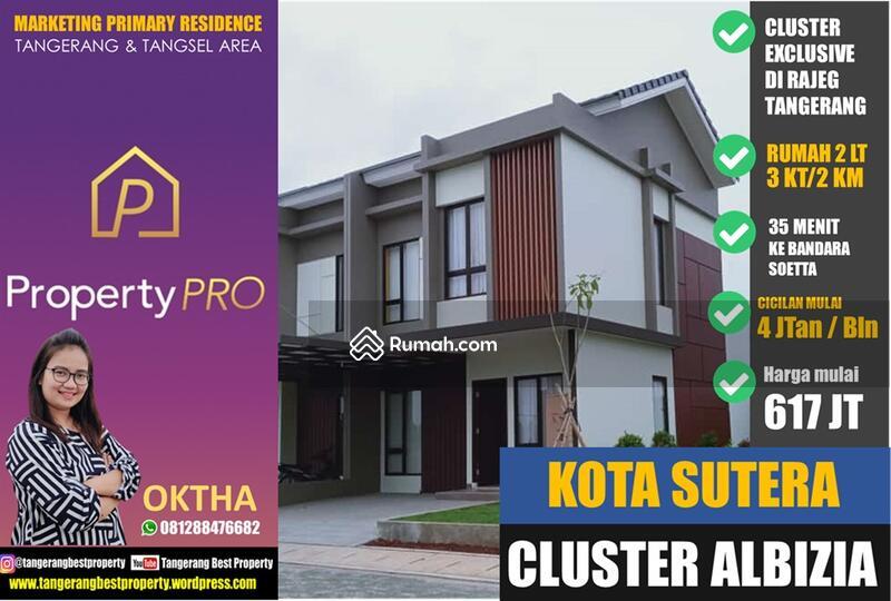 Cluster Alibizia Kota Sutera Rumah Exclusif Mandiri #104261801
