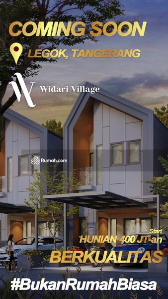 """Rumah 2 Lantai Premium """"WIDARI VILLAGE"""" Strategis di Legok #104266303"""