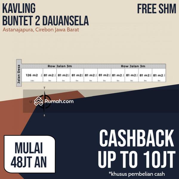 TANAH KAVLING BUNTET 2 DAUANSELA CIREBON #106558497