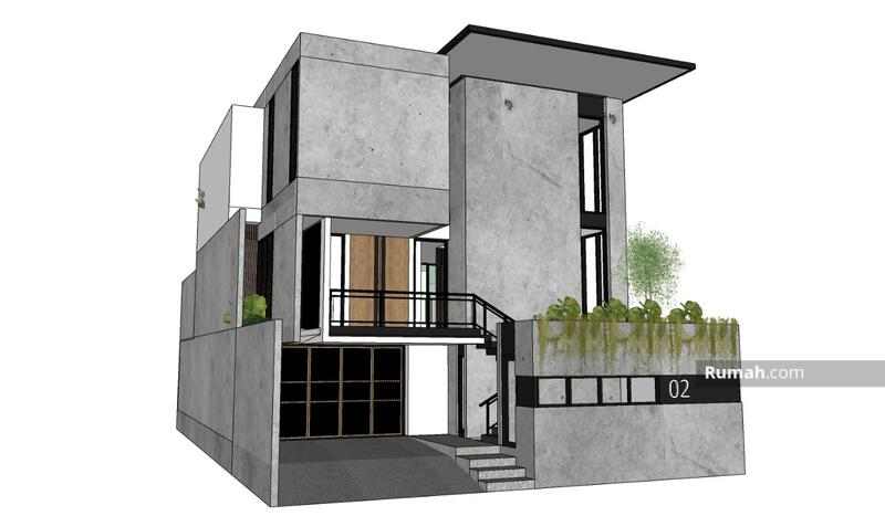Dijual Rumah Minimalis Modern di Setraduta #104600823