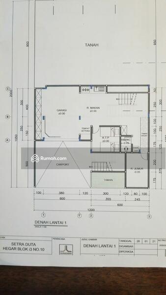 Dijual Rumah Minimalis Modern di Setraduta #104600827