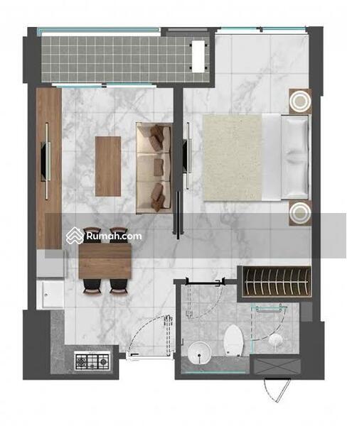 Apartemen Gold Coast Furnish 1 BR uk. 51 m2 #104668623