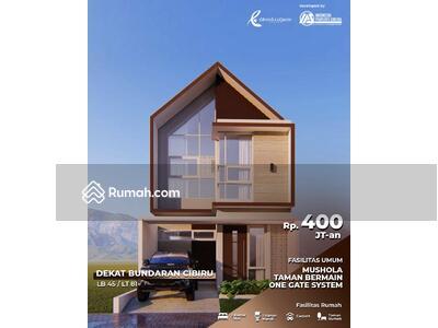 Dijual - Dijual Rumah Cantik 2 Lantai Syariah Terbaik Tanpa Sita Tanpa Denda.