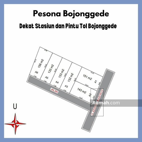 Pesona Bojonggede, Dekat Pemda Bogor, Cocok Untuk Hunian: Diskon 25% #104682077