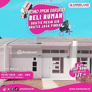 Dijual - Perumahan Murah KPR Subsidi Siap Huni Cicilan 1 Juta Flat Di Tangerang