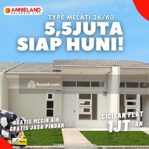 Dijual - Perumahan Subsidi Terjangkau Annieland Balaraja 5, 5 Juta Siap Huni Lokasi Tangerang Flat 1 Jutaan