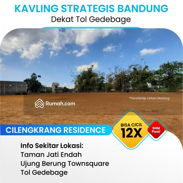 Tanah Kavling Dekat AH Nasution Bandung Timur: Legalitas SHM, Free BPHTB #104709691