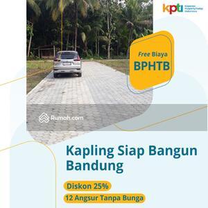 Dijual - Tanah Kavling Dekat Tol Kopo, Free BPTHB