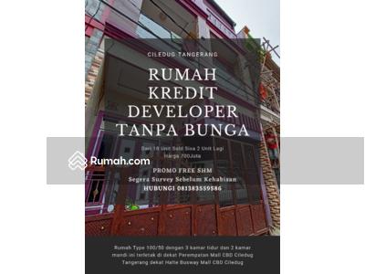 Dijual - Ciledug - PROMO SPESIAL TURUN HARGA Rumah KPR Pribadi Developer Di Perempatan Mall CBD Ciledug Tange