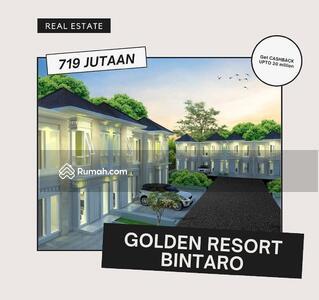 Dijual - Golden Resort Bintaro  Sektor 7 Kebayoran Arcde