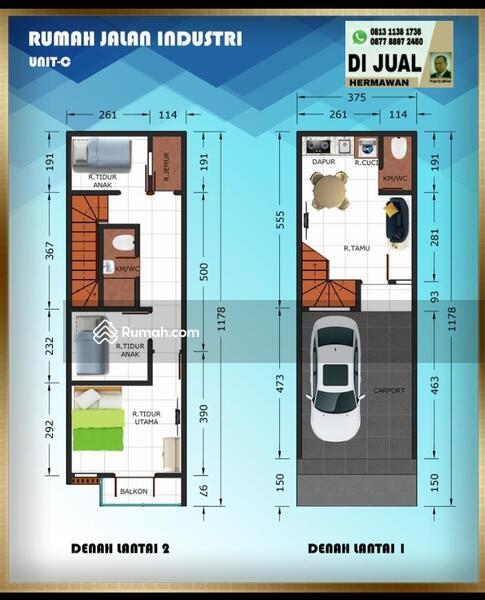 New Town House RAJAWALI Kemayoran #104869351
