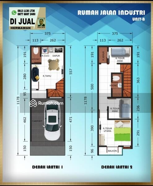 New Town House RAJAWALI Kemayoran #104869359