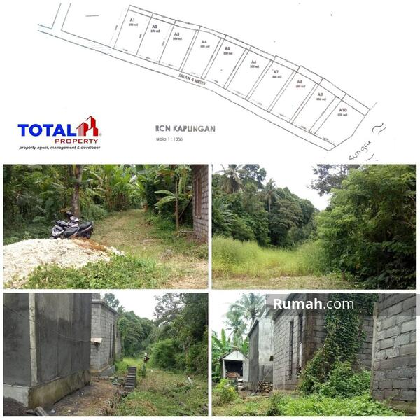 Dijual Tanah Kavling Bonus Bangunan Villa Setengah Jadi di Yeh Gangga, Sudimara Tabanan #104958025