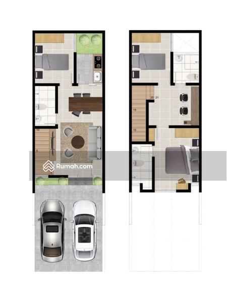Rumah Baru Gress Minimalis 2 Lantai Baruk Surabaya #104979201