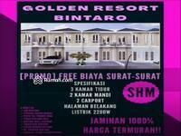 Dijual - Cluster Golden Resort Bintaro di sektor 7 kebayoran arcde harga terjangkau dengan budget ibu dan bpk