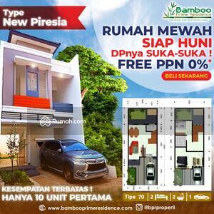 Dijual - Perumahan Mewah Bebas Biaya Ppn 10% Konsep Design Bali Cluster