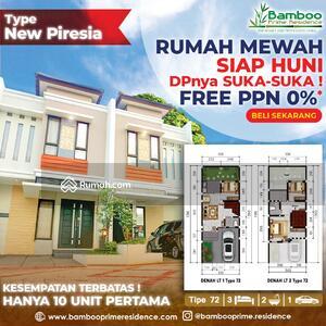 Dijual - Hunian Private Cluster 2 Lantai Nuansa Bali, Bebas PPN Rumah Siap Huni