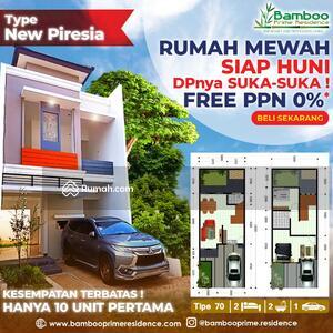 Dijual - Rumah Siap Huni di Selatan Bintaro Nuansa Bali Modern : 2 Lantai Bebas PPN