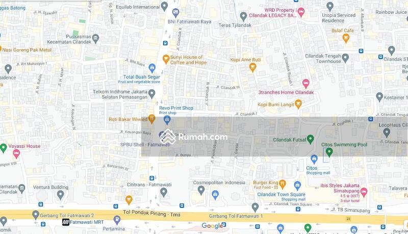 Tanah Siap Bangun Di Lokasi Strategis Dekat Fatmawati Raya Jakarta Selatan #105141765