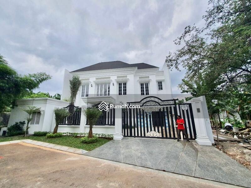 [HOUSE FOR SALE]rumah mewah dengan design classic berada di kawasan pondok indah, on progress #105186653