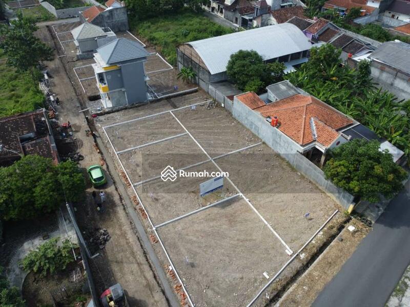 Kavling Siap Bangun Gergunung Klaten Utara Pinggir Jalan Aspal #105194031