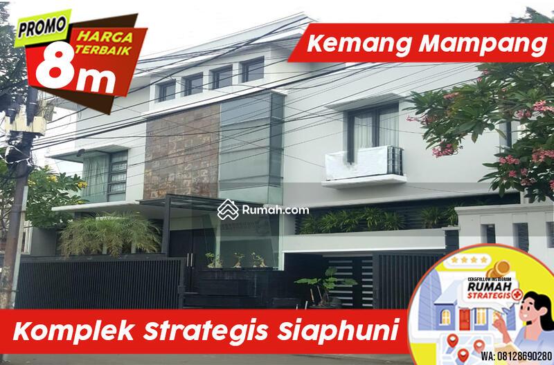 Rumah Mewah 3 Lt Strategis Luas Full Furnish Kemang Mampang Jakarta #105201711