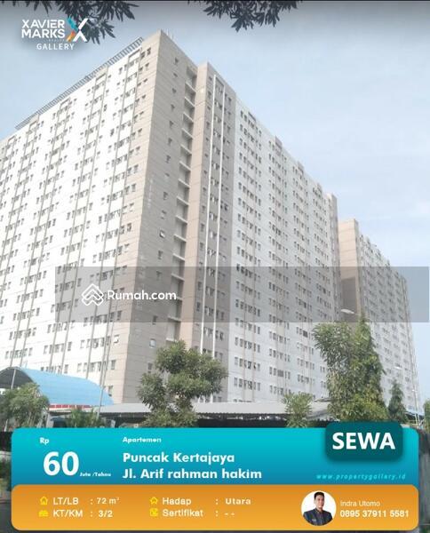 Disewakan Apartemen Puncak Kertajaya Tower B #105202253