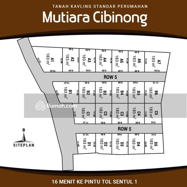 Angsuran 12x Tanpa Bunga Tanah Kavling Area Pemda Cibinong #105202339