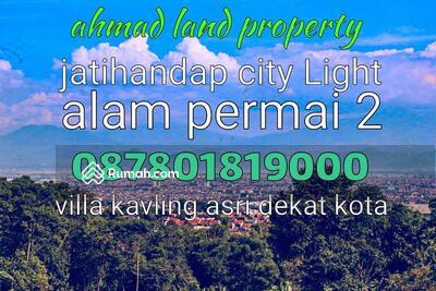 Dijual - perumahan baru di cluster samha alam permai 2 residence ahmad land jatihandap