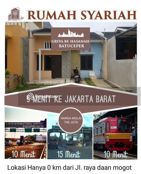 Rumah di Batuceper Perbatasan Jakarta Barat Jalur Daan Mogot terminal Kalideres dan KRL tanah tinggi #105212315