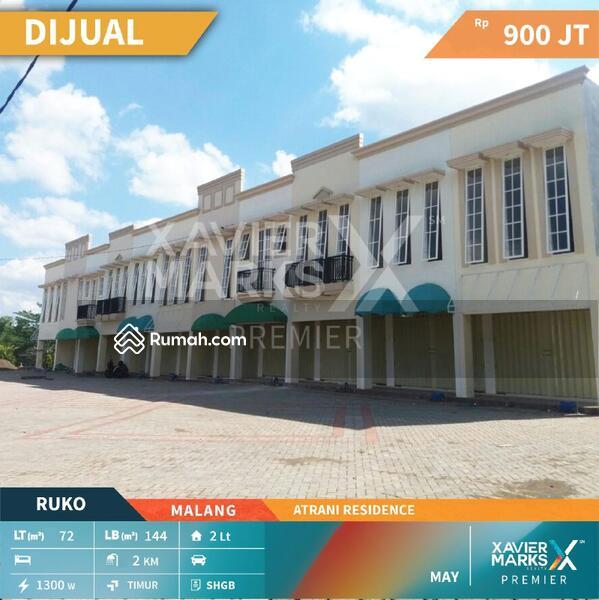 Di Jual Ruko Lokasi Sudah Padat Huni di Perumahan Atrani Residence Malang #105212939