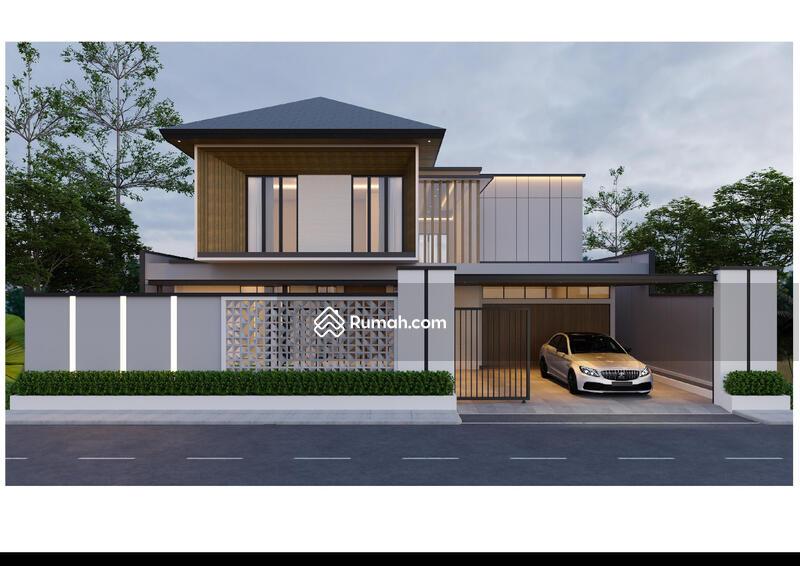 Dijual Rumah 2 Lt Modern Tropis di Soekarno Hatta #105220507