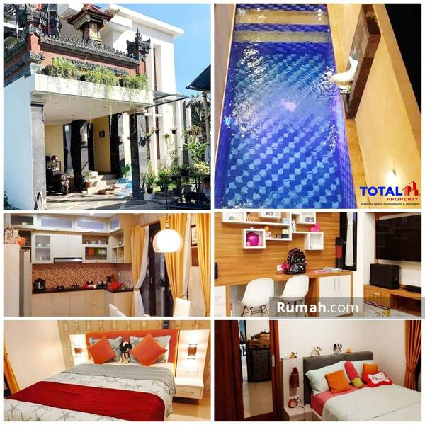 Jual rumah dengan pool ala villa di blahbatuh gianyar harga murah #105222239