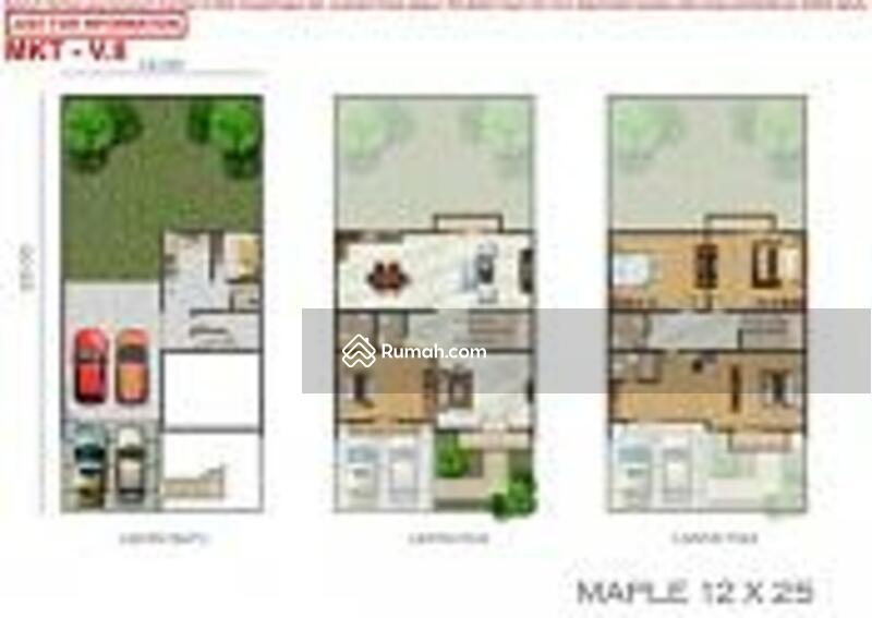 Rumah maple uk 12x25 hoek di golf island bisa sewa #105222513
