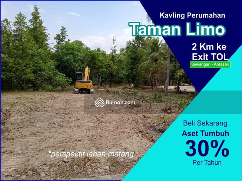 Profit 30%: Dijual Tanah Kapling SHM Meruyung Dekat Gerbang Tol Desari #105225095