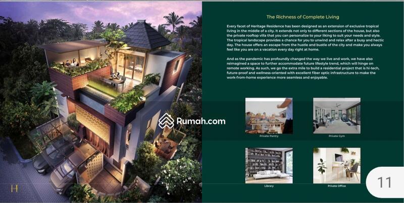 Launching Heritage Puri 11 rumah 3lantai bagus start 3M #105230753