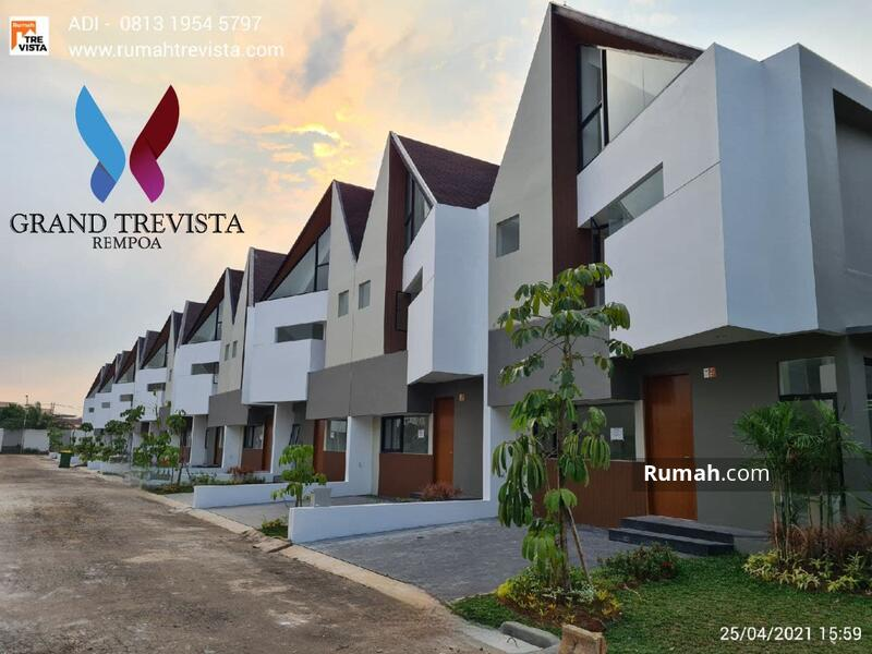 Rumah Baru Grand Trevista Rempoa Hanya 3 Km dari MRT Lebak Bulus, Jakarta Selatan #105232113