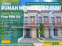 Dijual - Fasilitas Swiming Pool Dan Club House, Dsikon Hingga Puluhan Juta Rupiah & Free PPN 10%