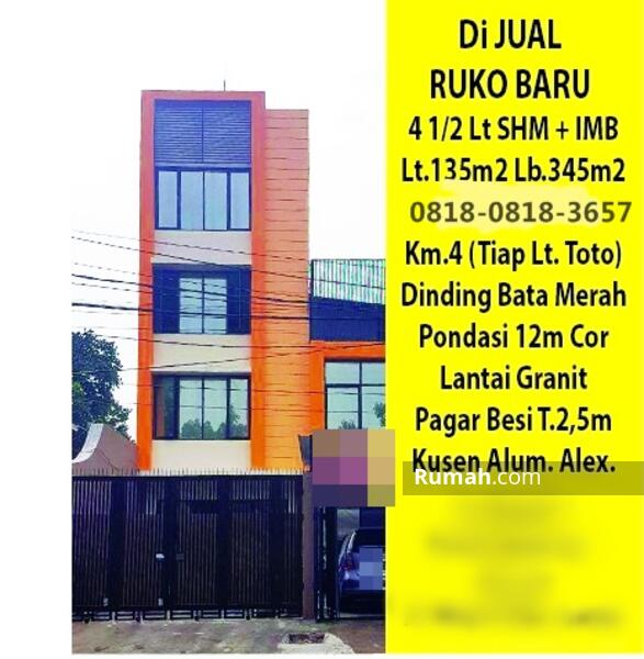 Ruko Kebayoran Lama Jakarta Selatan (SRY) #105277811