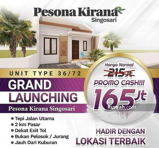 Dijual - Rumah Dijual di Malang Lokasi Strategis Pinggir Jalan Raya