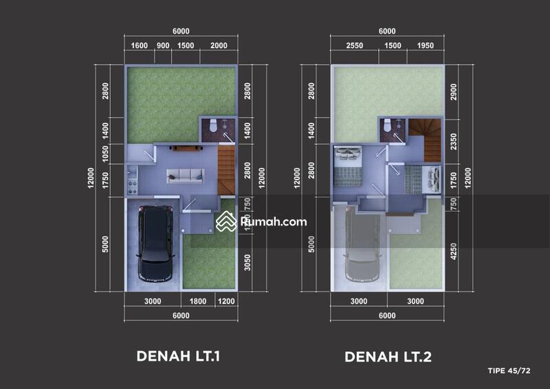 ALL-IN Terakhir Rumah Komplek 2 Lantai Sariwangi Cihanjuang Bandung Barat Sejuk dekat Tol #105472315