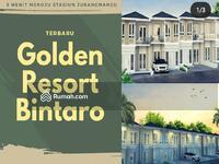Dijual - Cluster Golden Resort Bintaro Sektor 7 kebayoran Arcde