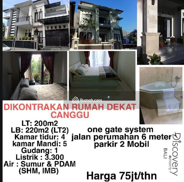 DIKONTRAKAN RUMAH DEKAT CANGGU (Full Furnished) #105537975