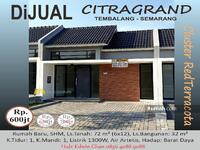Dijual - DIJUAL Rumah Baru di CitraGrand Semarang