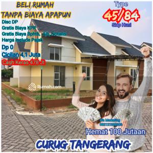 Dijual - 45/84 Ready Ciciln 4 jt Jl Raya Curug km4 Tangerang