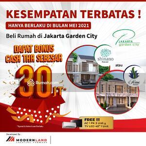Dijual - Rumah Murah Jakarta Garden City La Seine, Jakarta Timur, Cakung harga mulai 1. 7M