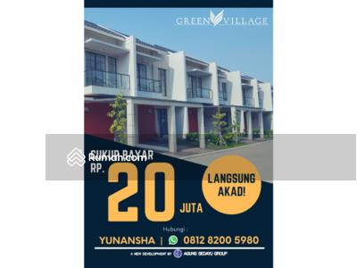 Dijual - Green Village Agung Sedayu
