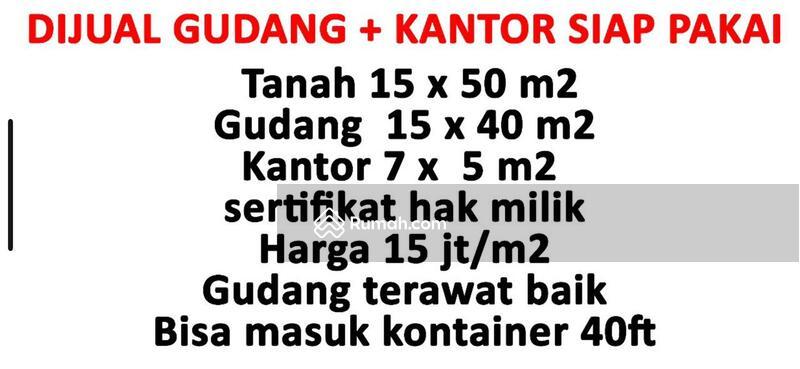 Dijual Gudang+Kantor Siap Pakai di Kedaung Kali Angke Pergudangan Kapuk Indah #105854629