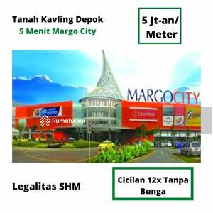 Dijual - Jual Tanah Kavling Depok. 5 Menitan Margo City Mall. Cicilan 12x
