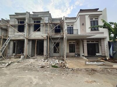 Dijual - Depok Sawangan. DP Rp 24 jt, 2 Lantai 3 Kamar Tidur